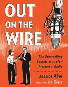 Buchcover von Jessica Abels Buch Out on the Wire
